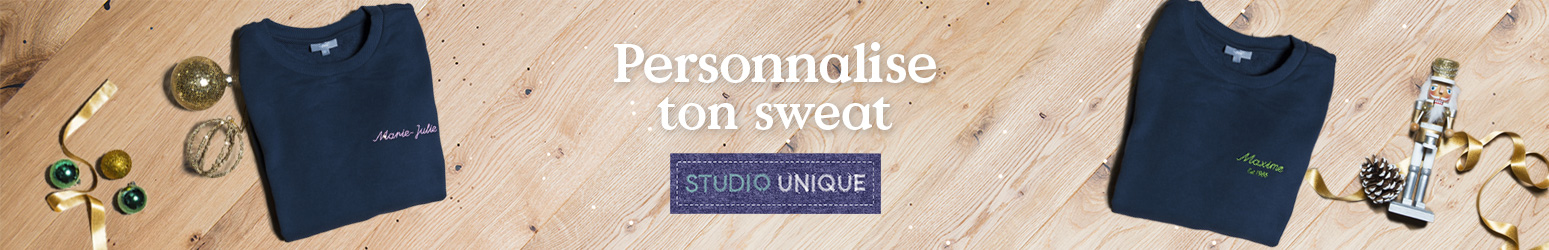 Personnalise ton sweat adulte