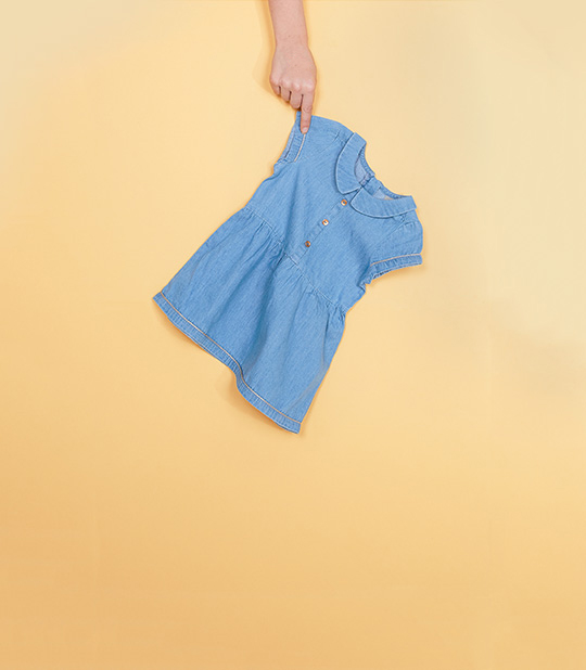 Nouvelles robes pour bébés filles.