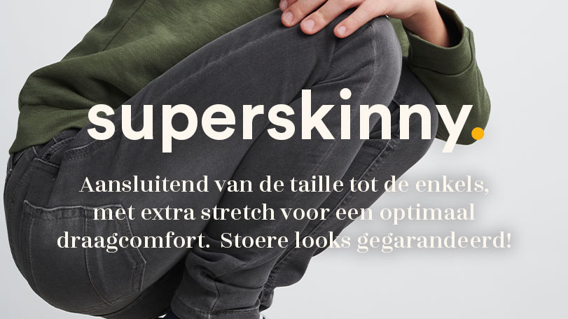superskinny denim fit