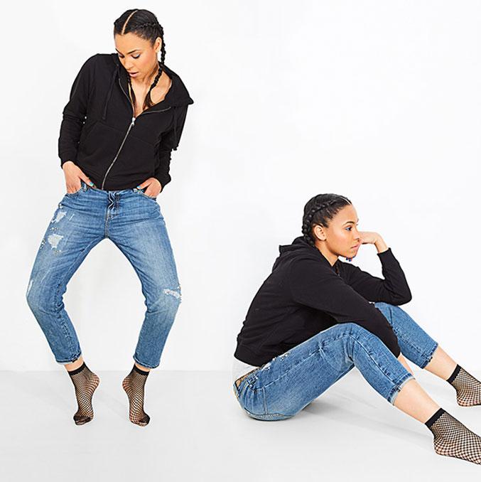 Boyfriend jeans voor dames: een losse pasvorm, heel comfy en super stylish.