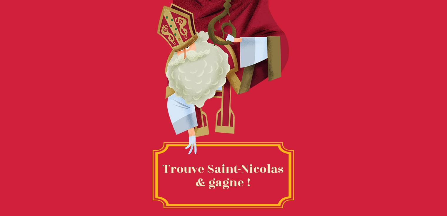 Participez au concours en ligne de Saint-Nicolas !