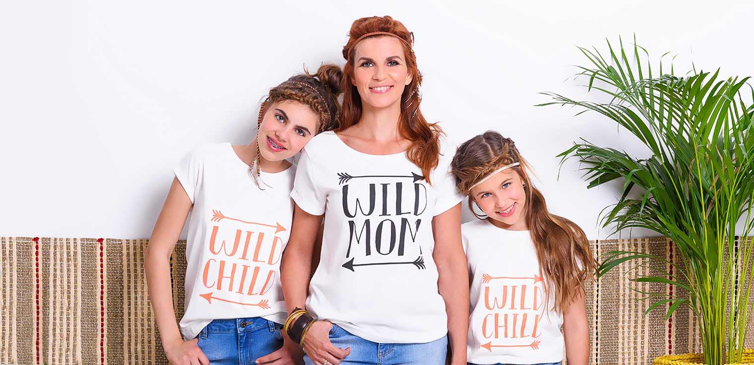 Met haar nieuwe twinning collectie brengt Katja Retsin bohemian vibes voor mama en kids.