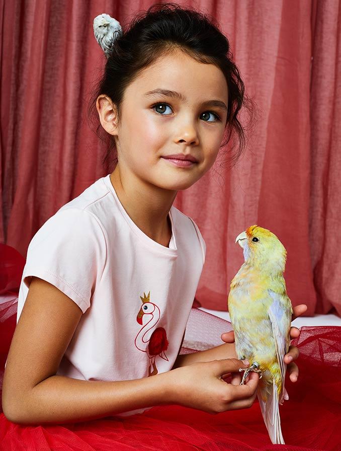 Communion et fête Laïque collection pour filles