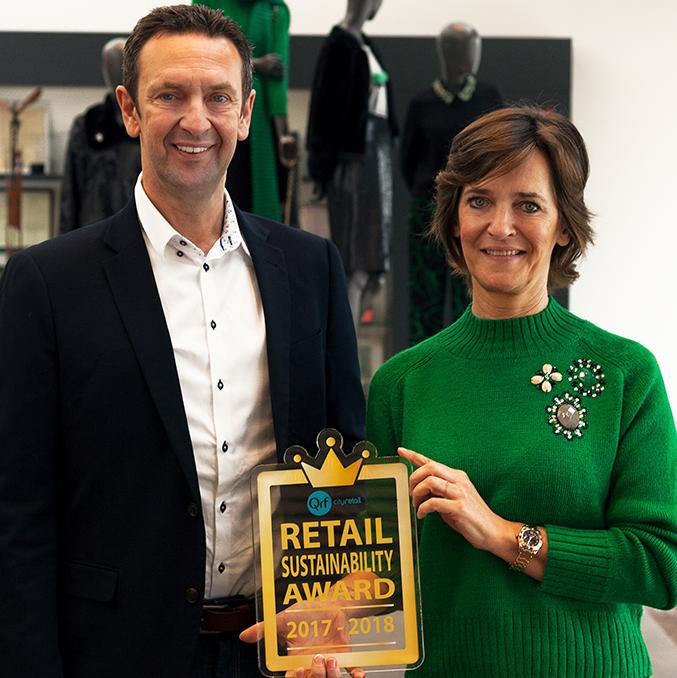 JBC remporte le prix pour l'entreprise la plus durable