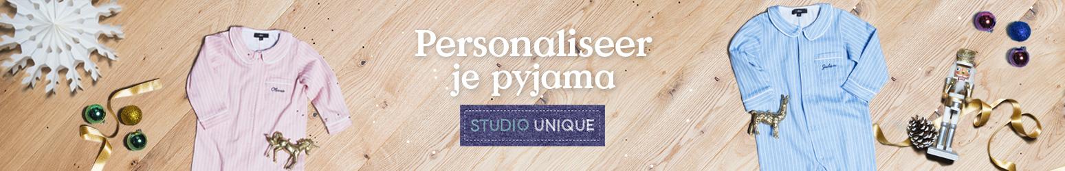 Personalisatie pyjama baby