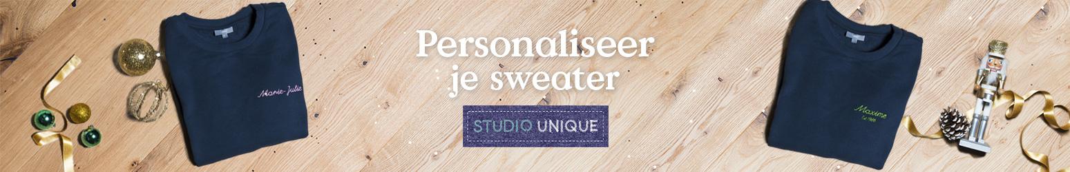 Personalisatie sweater volwassen