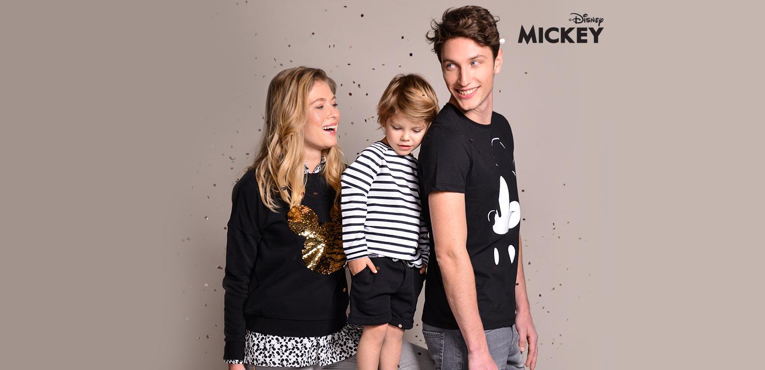Mickey fête son anniversaire ! Et nous le célébrons avec une collection spéciale de Mickey pour toute la famille.