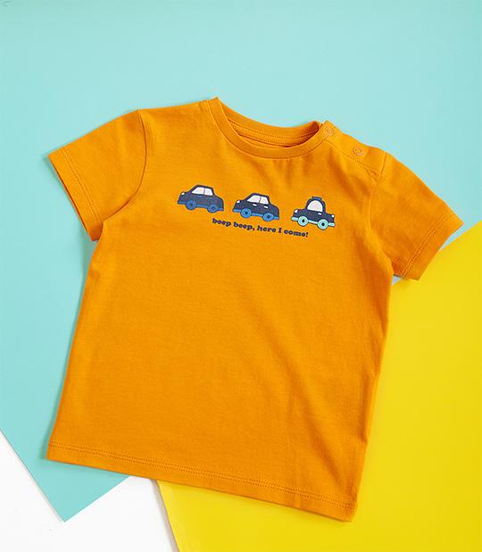 Nouveaux T-shirts pour bébés garçons.