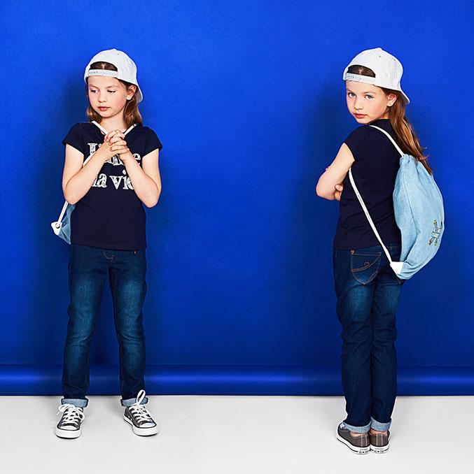 Skinny jeans voor meisjes: de skinny voelt dankzij een extra portie stretch aan als een tweede huid.