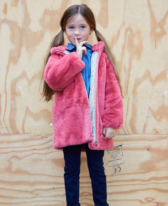 Vestes d'hiver pour filles