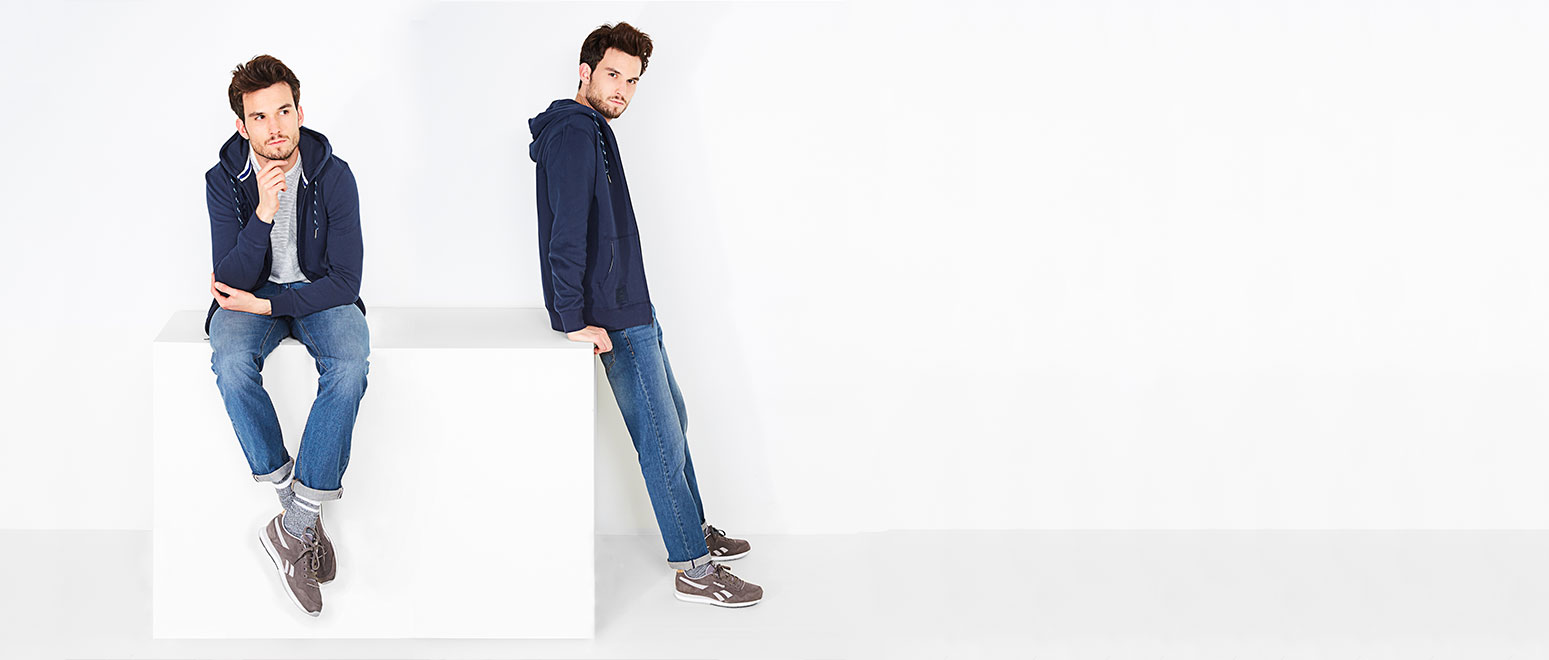 Jeans fit guide voor heren: van een goede jeans word je nu eenmaal gelukkig.