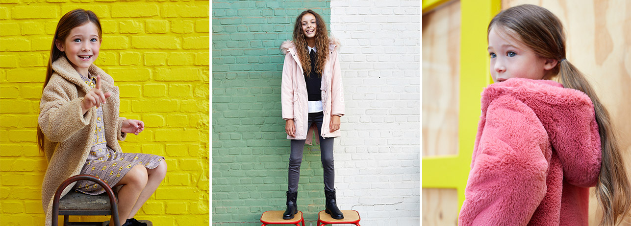Nouvelle collection automne pour filles