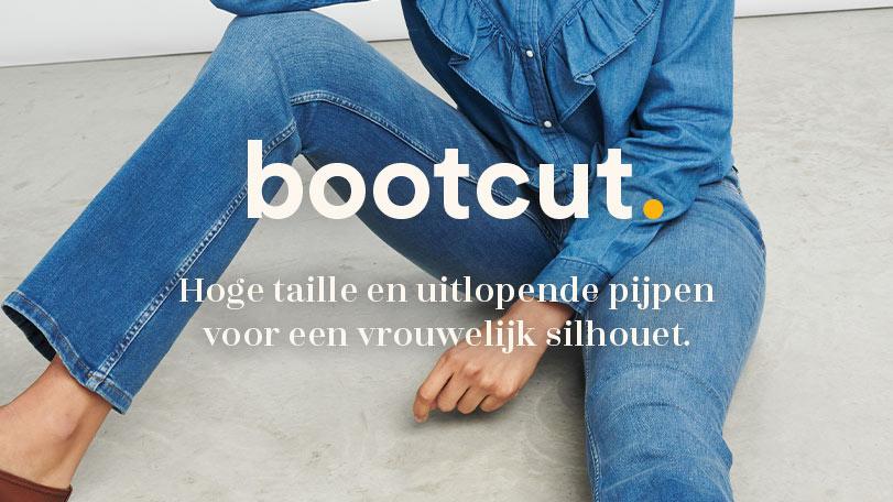 bootcut denim fit