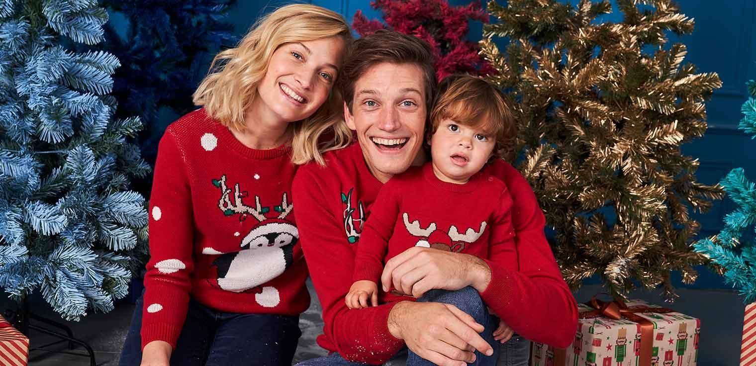 Kerstoutfits voor het hele gezin