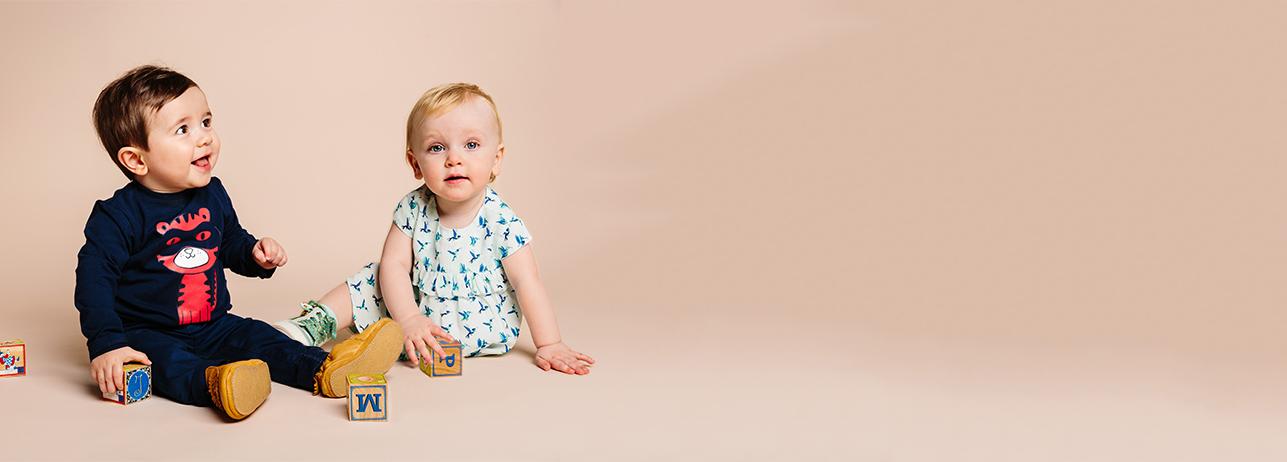 Nieuwe collectie voor babyjongens voorjaar 2018