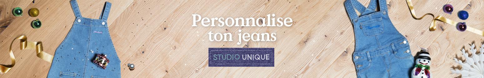 Personnalise ton jeans bébé