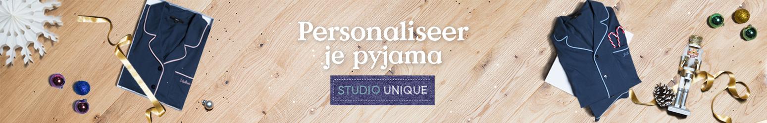 Personalisatie pyjama volwassen
