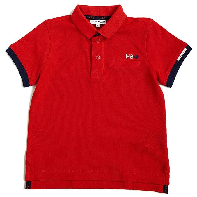 Rood T-shirt van Hampton Bays voor jongens