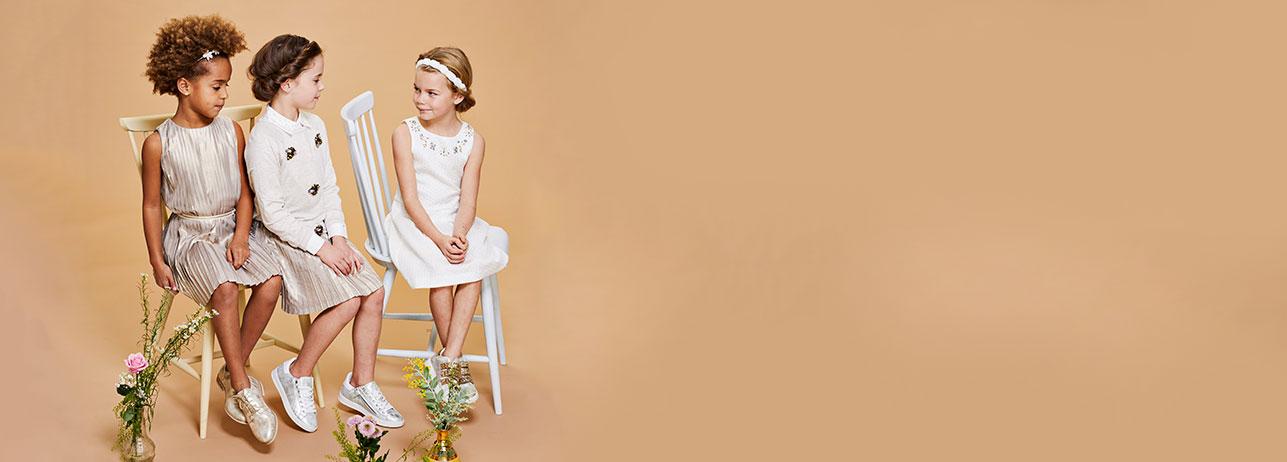 Communie- en lentefeestcollectie voor meisjes