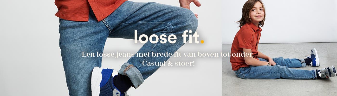 loose denim fit