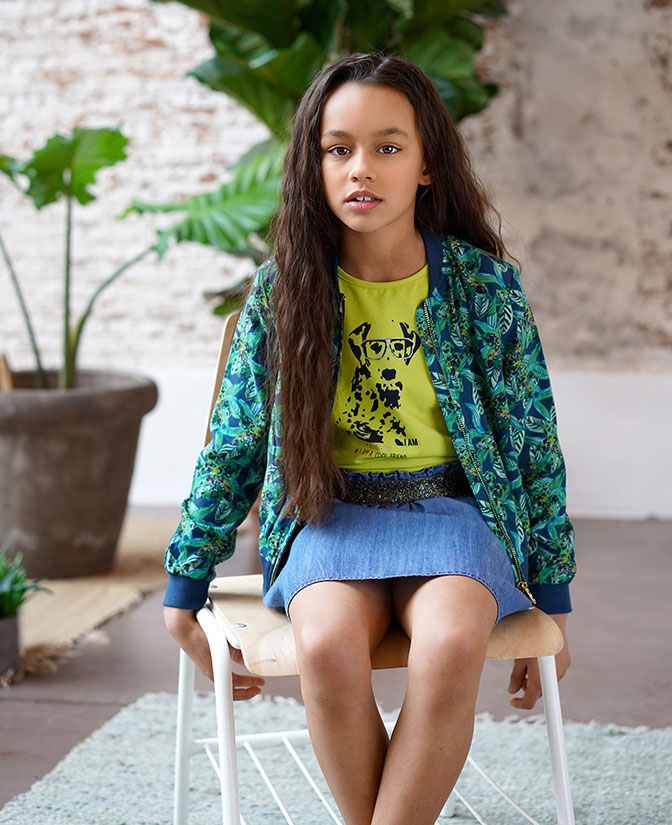 Nieuwe eco-collectie uit lyocell voor  meisjes