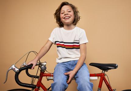 Collection BAPTISTE avec vélo