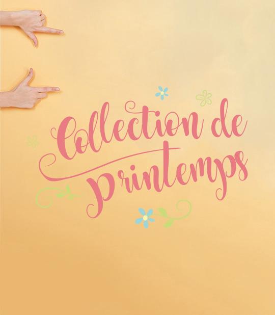 Nouvelle collection printanière pour bébés filles.