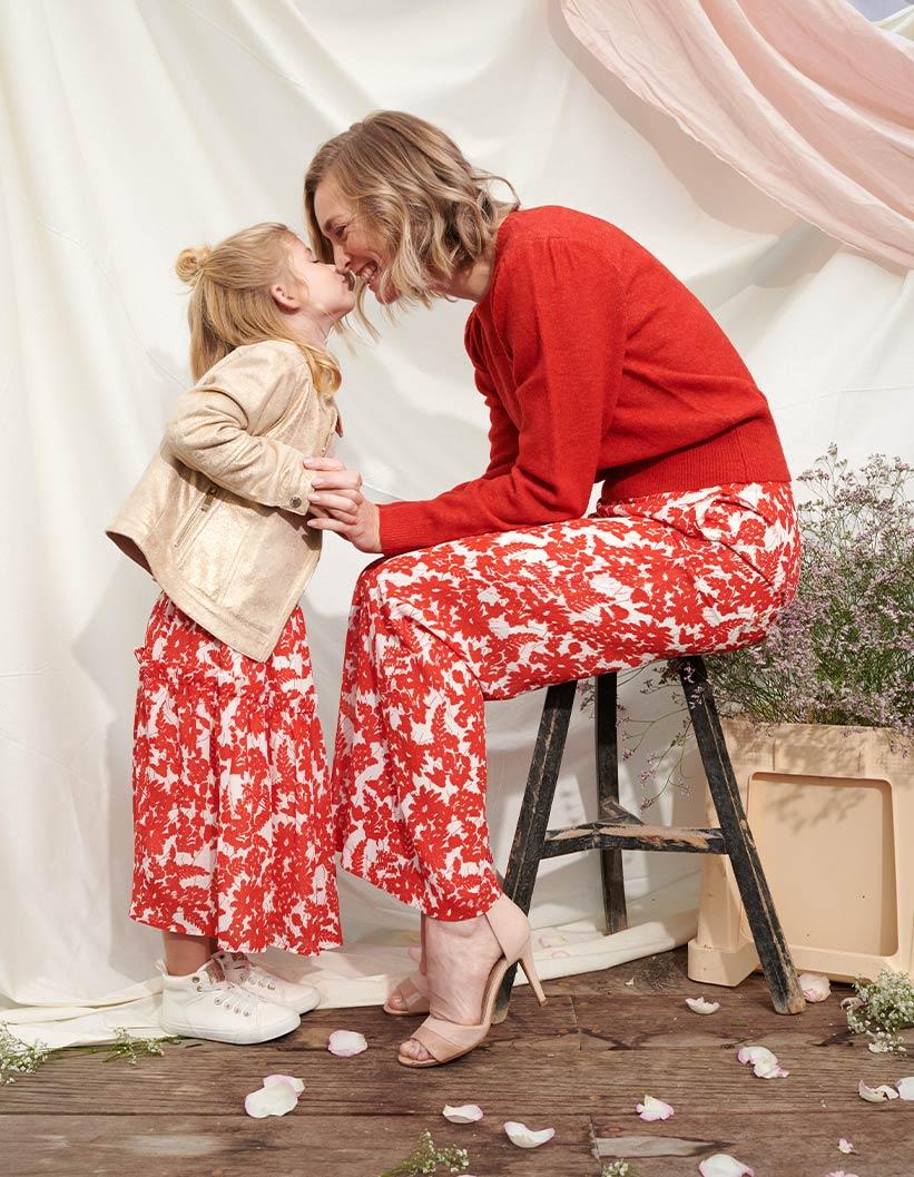 communie twinning mama dochter