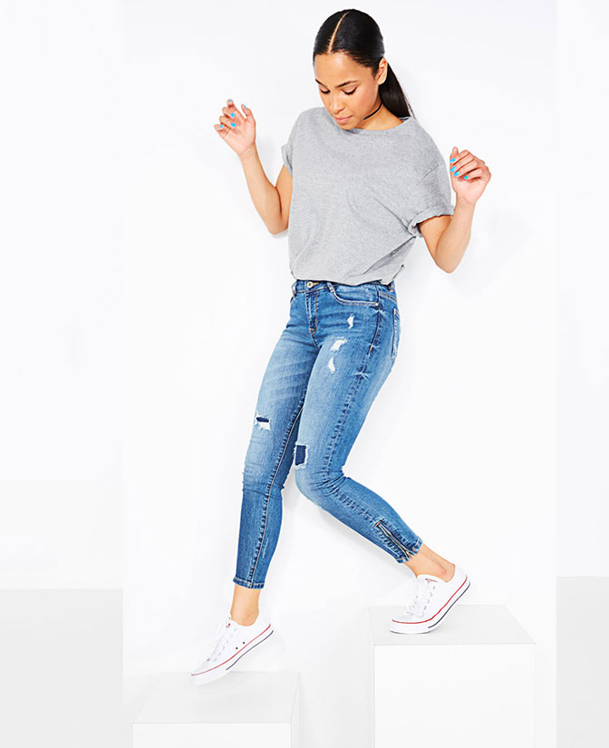 Le jeans skinny pour femmes: accordez à vos jambes toute l'attention qu'elles méritent.