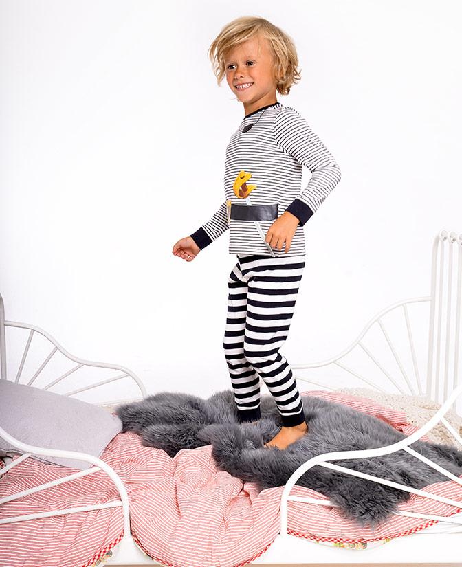pyjama rayé Pat le Pirate