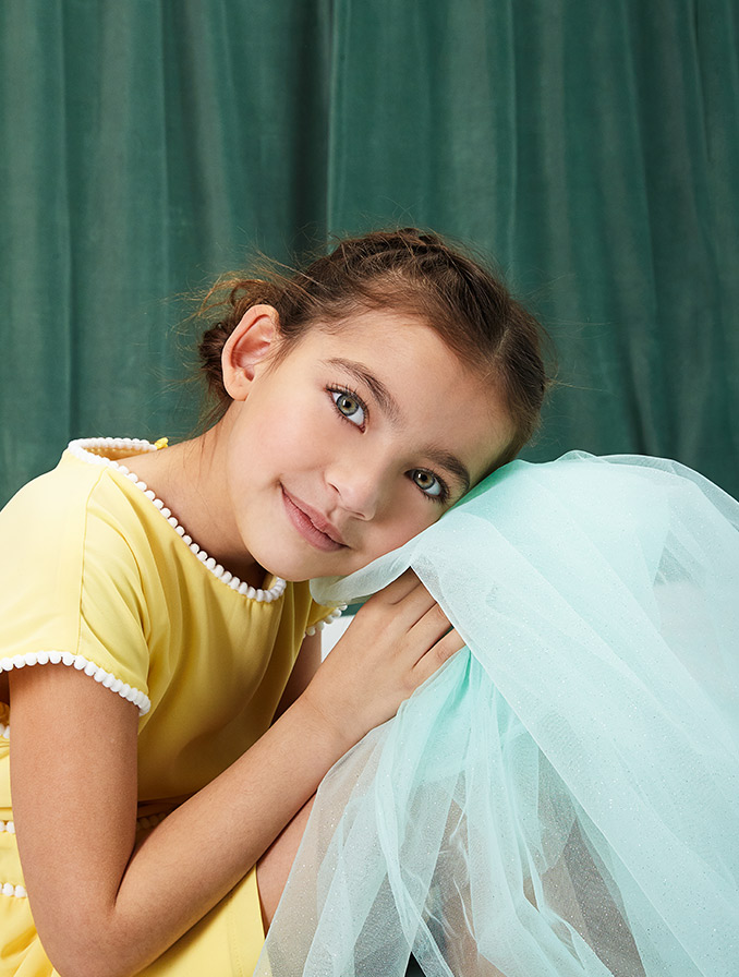 Collection pastel communion pour filles