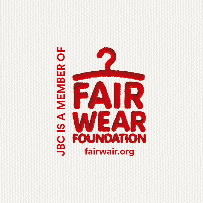 JBC est membre du Fair Wear Foundation