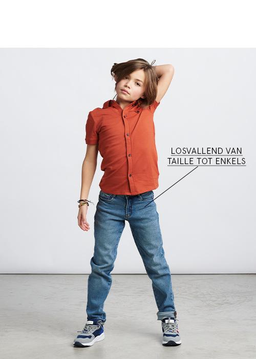 loose fit jeans jongens