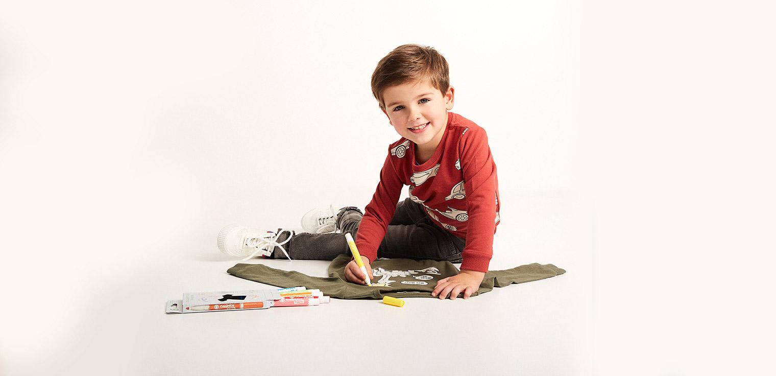 sweats à colorier pour enfants