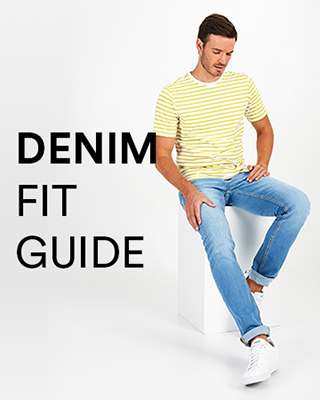 denim fit guide heren